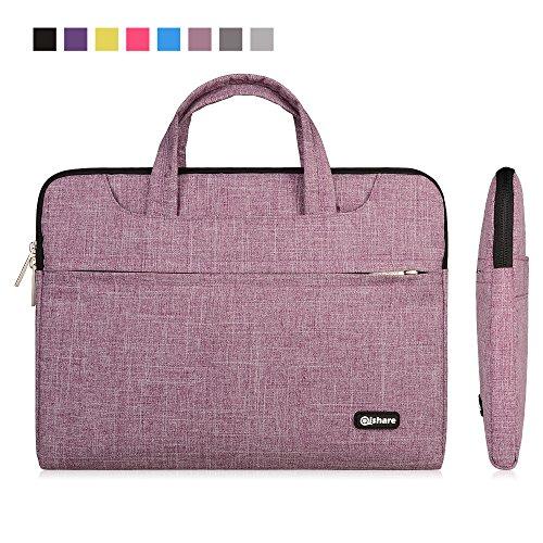 Qishare Laptop Case, Laptop Shoulder Bag, Multi-functional N