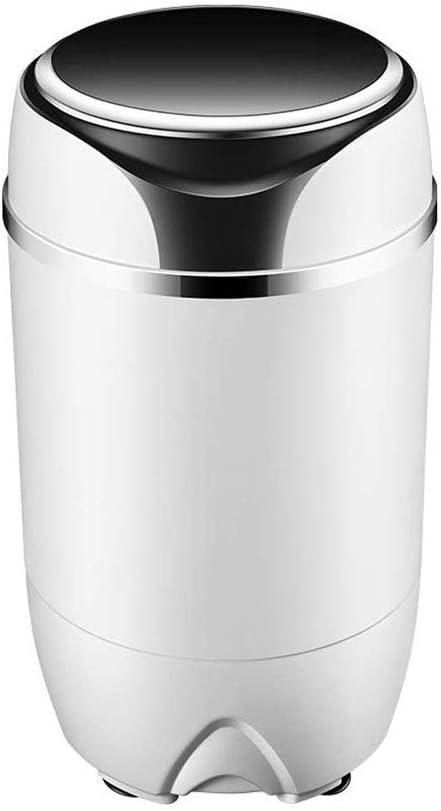 RMXMY Lavadora Semi-automática portátil Compacto de la Vuelta de lavandería Lavadora con Bomba de Descarga, Inicio de múltiples Funciones del bebé Mini Lavadora