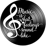 Music is What Feelings Sound Like Inspirational