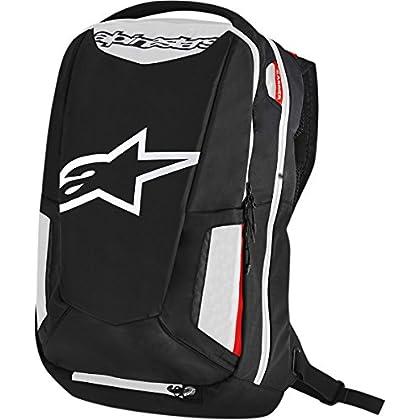 Image of Alpinestars 3517-0403 Black/White/Red 25 Liter City Hunter Backpack