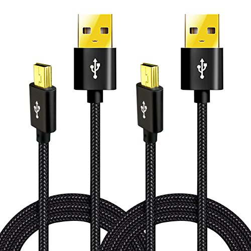 USB Data Cable for Canon Powershot/EOS/Sony/Nikon UC-E4 Digital Camera DSLR, Replacement Interface Cord for ELPH 180, 190 IS,IFC-400PCU, IFC-300PCU and IFC-200PCU and more