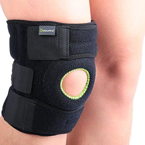 Adjustable Knee Patella Support Brace Sleeve Wrap - 6