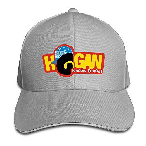 Jackey Hogan Knows Breast Basellball Cap Hat (Hogan Hat)