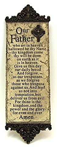 Lord's Prayer Wall Plaque - Lords Prayer Craft