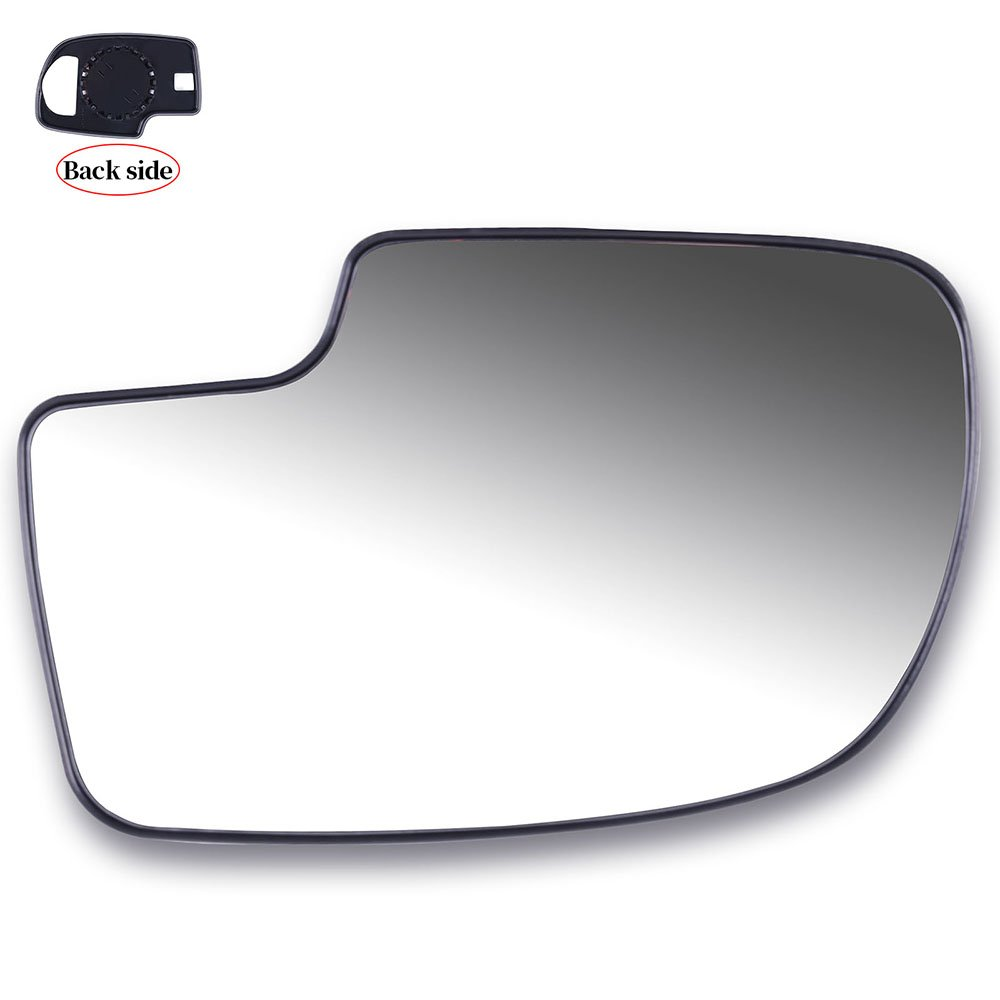 TUPARTS Door Mirrors Glass Right Side Manual Adjustment Non-Heated Compatible with 1999-2016 Chevrolet Silverado Pickup Chevrolet Suburban 2007 GMC Sierra Picku 12477844 GM1325105