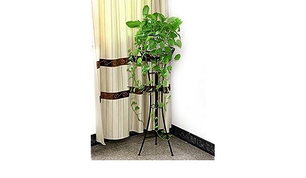 estante de almacenamiento Estante de la flor del hierro, estante europeo del estante de la flor de la capa única del balcón del estilo, estante de la flor ...