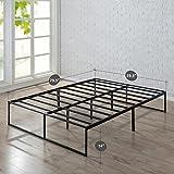 Zinus 14 Inch Platforma Bed Frame / Mattress Foundation / No Box Spring needed / Steel Slat Support, Queen