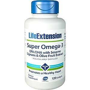 Life Extension - Super Omega-3 EPA/DHA EntCt 120 softgels