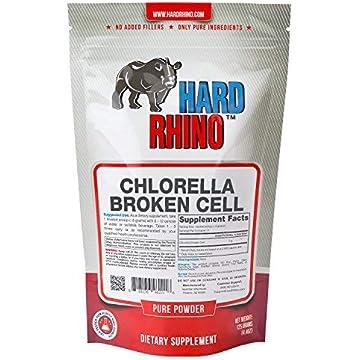 buy Hard Rhino Chlorella Broken Cell Powder