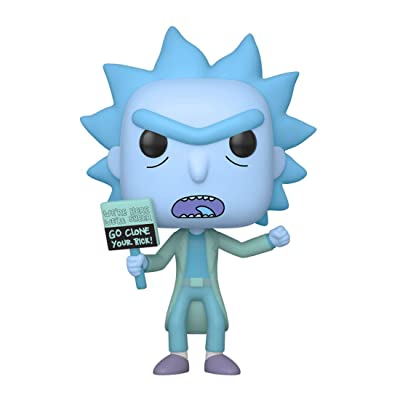 Funko Pop! Animation: Rick & Morty - Hologram Rick Clone: Toys & Games