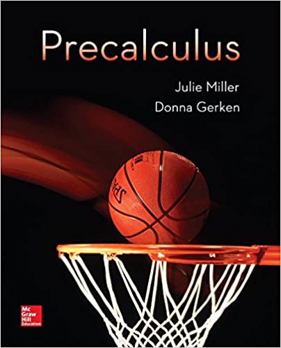 Precalculus julie miller donna gerken 9780078035609 amazon precalculus 1st edition fandeluxe Choice Image
