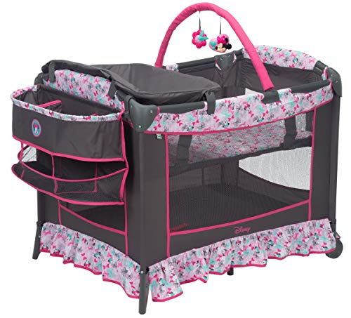Disney Baby Sweet Wonder Play Yard, Minnie Bowtiful from Disney