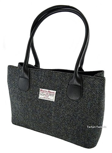 Harris Tweed Ladies Authentic Classic Handbags LB1003 (Col1 )