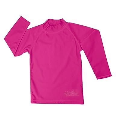 931a43fa UV SKINZ UPF50+ Girls Long Sleeve Sun & Swim Shirts-Hot Pink-2T