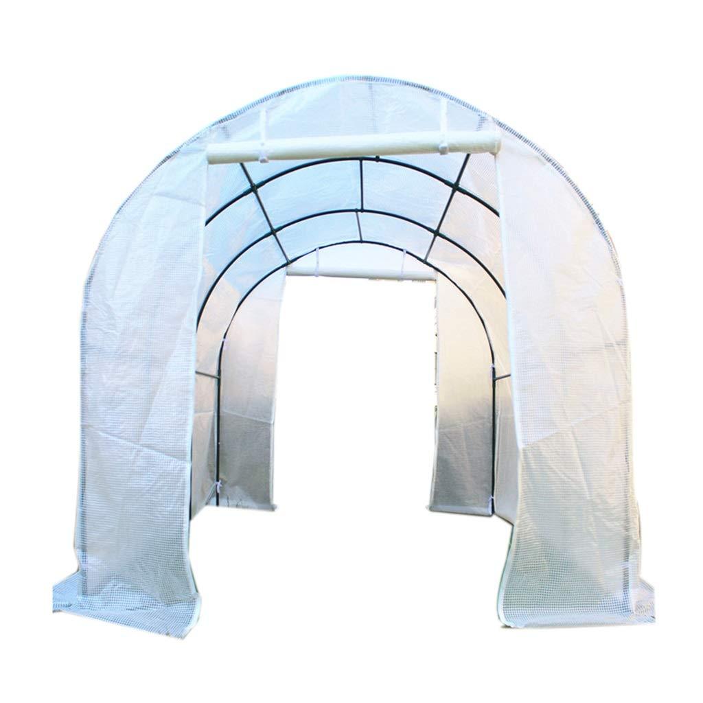 Miniserre Serra da Giardino Balcone Kit di Piante da Giardino Portatile all'aperto Serra, Grande casa verde Trasparente per Erba (Dimensioni   152×120×152cm)