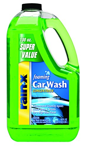 Gumout Rain-X 5072084-4PK Foaming Car Wash - 100 fl. oz. in Each (Pack of 4) (Best Hand Wash Car Wash)