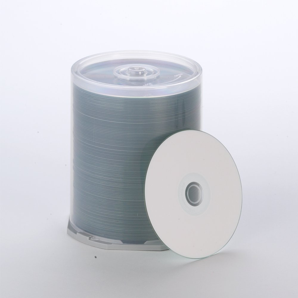 Primera 53382 DVD Media 100 Pack - White Printable Ink by Primera Technology