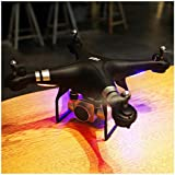 RC Quadcopter Wotryit Drone 1080P Wide Angle Lens 270 Degree Rotating HD Camera Drone FPV Gift (black)