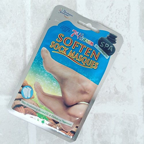 Spa 7th Heaven Soften Sock Masques 1 Pair