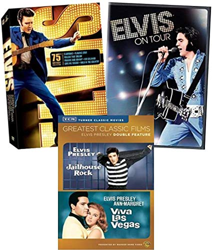 Elvis Presley 10-Movie Collection DVD - Jailhouse Rock/ Viva las Vegas/ Elvis on Tour/ Clambake/ Follow That Dream/ Kid Galahad/ Love me Tender/ Wild in the Country/ Flaming Star