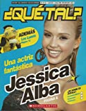 QUE TAL? Spanish magazine Scholastic 2005 Jessica Alba.