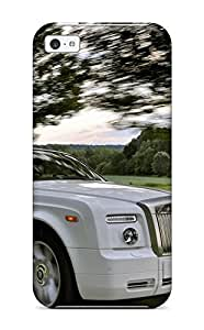First-class Case Cover For Iphone 5c Dual Protection Cover Rolls Royce Phantom 10 by mcsharks