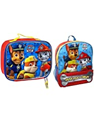 Paw Patrol Just Yelp for Help 15 Backpack and Boys 7.5 Lunch Kit Combo