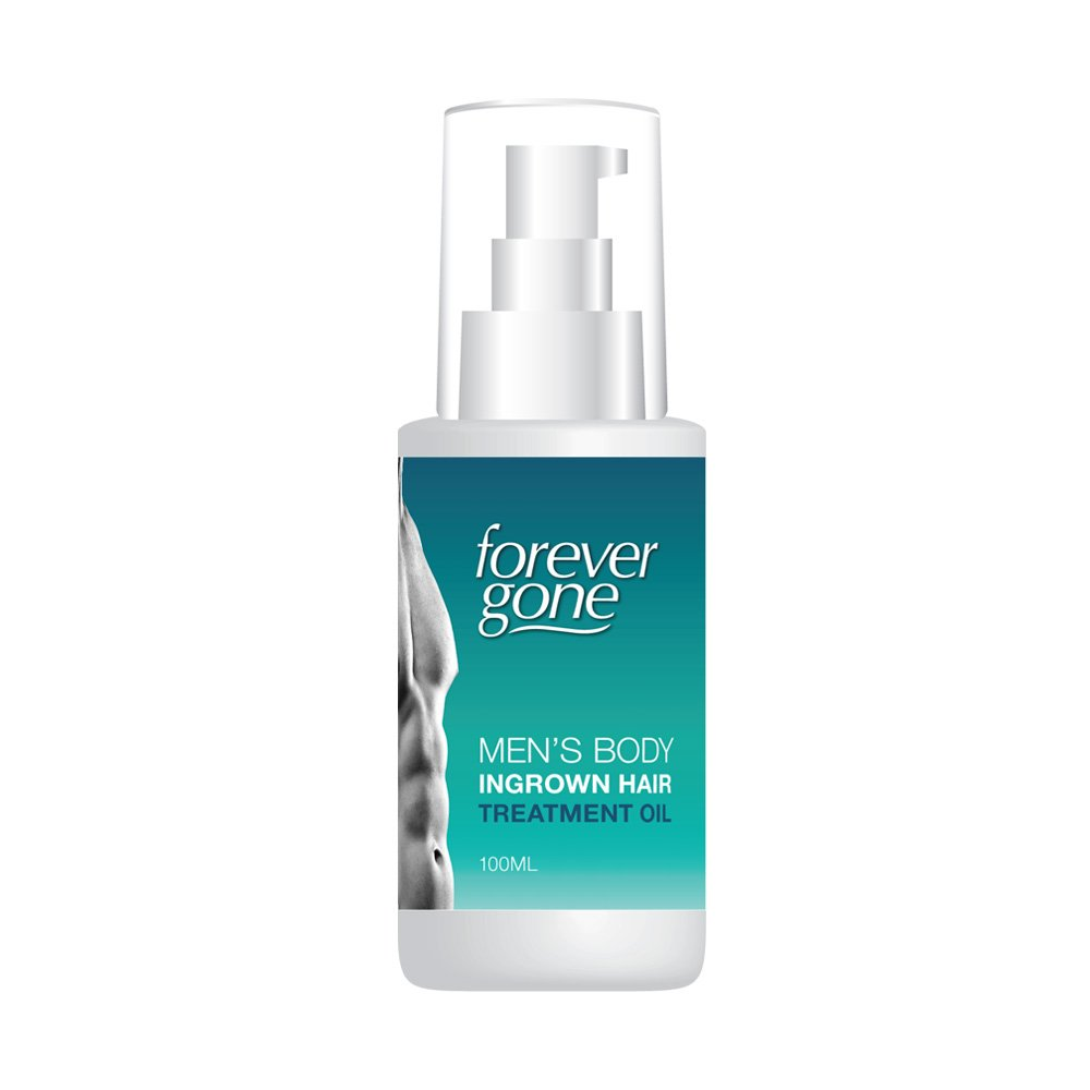FOREVER GONE MENS BODY INGROWN HAIR TREATMENT OIL – SHAVE WAX