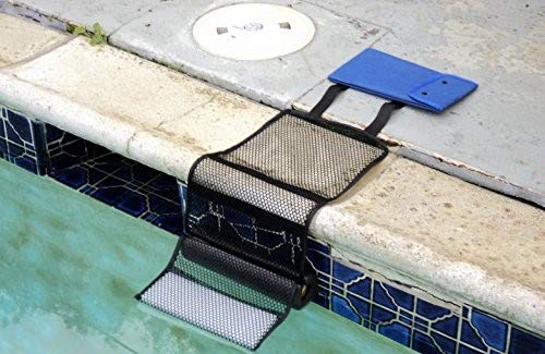 (Critter Pool Escape Net-Animal Escape Ramp for Pools- Save Critters in Swimming Pool Device-Frog Pool Escape-Mice Rats Squirrels Possums Turtle Frogs Saver-Easy Setup Low Priced Animal Escape)