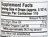 Source Naturals Wellness Oil of Oregano 45mg 70% Carvacrol, 100% Pure, Organic Essential Antioxidant Supplement - .5 oz