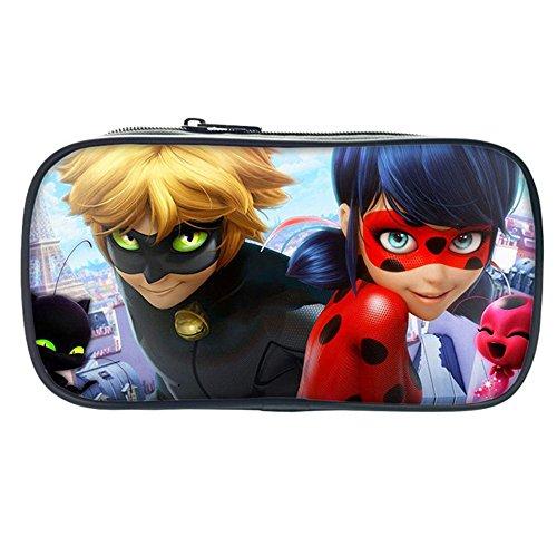 Price comparison product image Ladybug School Pencil Bag Make Up Bag Coin Purse Bag for Kids Children Girls