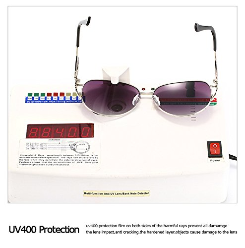 Diamante de Sol Capa Manera Las Conduce para la Mujeres 2 del Caja Gafas polarizada ZX Color la Gafas Las Sol de de de Adultas conducción UV400 2 Que de 81OwnaRv