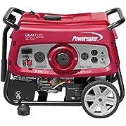 Powermate 6958 - 7500W Electric Start Dual Fuel Portable Generator, 49 State/Csa