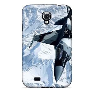 Galaxy S4 Case Cover Skin : Premium High Quality F16 Over Snow Case