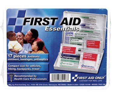 FIRST AID KIT 17PC By FIRST AID ONLY MfrPartNo FAO 1O6