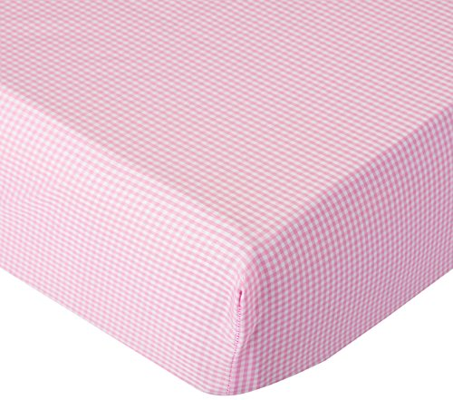 BabyDoll Gingham Flat Crib/Toddler Sheet, - Flat Sheet Crib