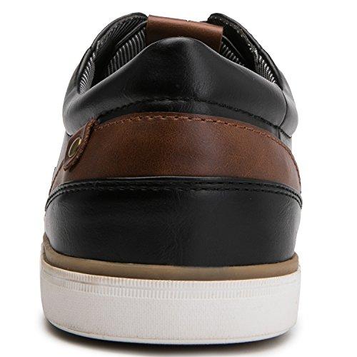 Globala Win Globalwin Mens M16666769 Mode Sneaker Svart 62