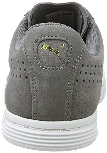 Shade Puma Star Gris Court quiet Basses Suede Adulte Mixte Sneakers qRzZ6Hq