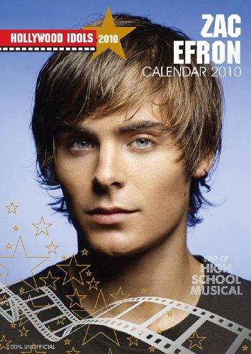 Hollywood Idols Zac Efron Calendario 2010