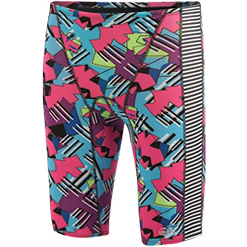 Dolfin MEN'S UGLIES SWIM JAMMER ORIGAMI-LIME/OR SIZE 26