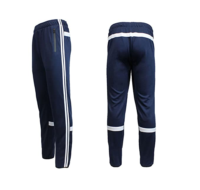 ff8bf7fc4405fc Image Unavailable. Image not available for. Color: Galaxy by Harvic Mens Athletic  Soccer Training Sweat Track Pants ...
