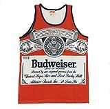 Calhoun Budweiser 88 Retro Label Mens Tank Top II-small