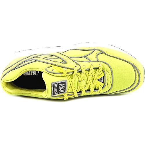Puma Trinomic R698 x ICNY Hombre US 9 Amarillo Zapato para Correr