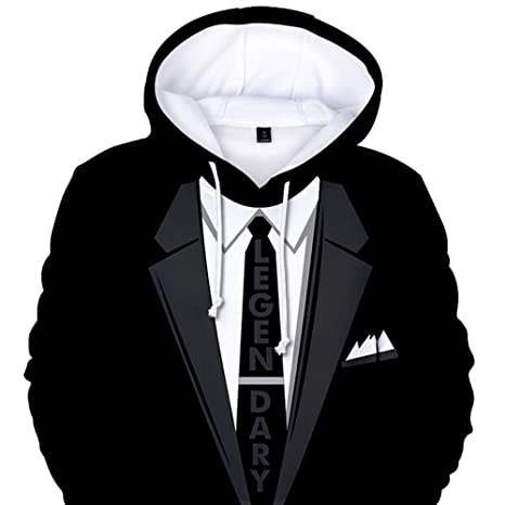 f0a4448201 OrchidAmor Tuxedo with Tie Suit Funny Pattern T-Shirt at Amazon Women's  Clothing store: