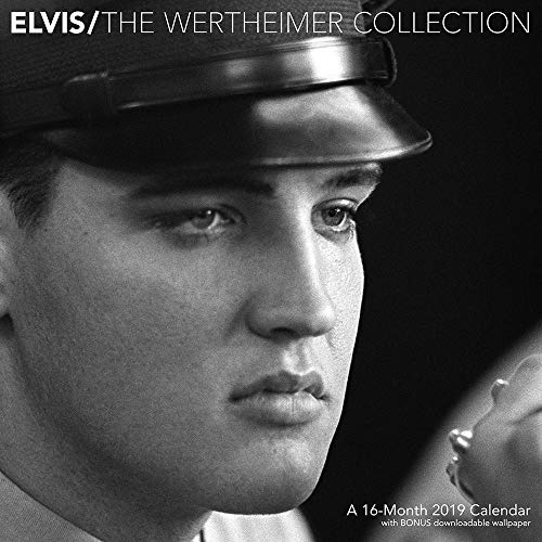 Elvis Wertheimer 2019 Wall Calendar, Rock by ACCO Brands
