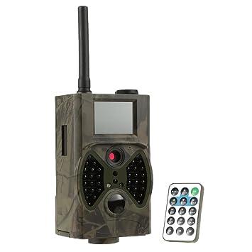 Docooler Cámara de Caza Trail Exploración Vigilancia Caza Infrarrojo Digital GPRS / MMS / SMS 940NM