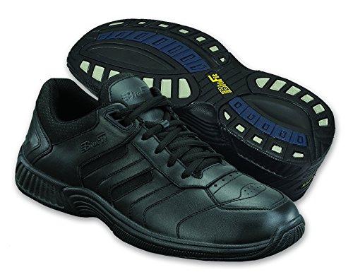 Orthofeet Pacific Palissades Confort Orthopédique Orthèse Mens Diabetic Sneakers Cuir Noir