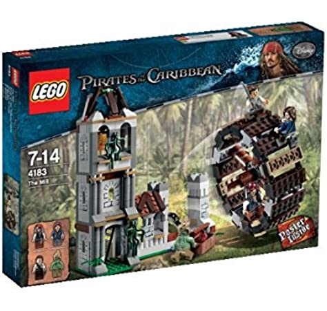 LEGO Piratas del Caribe 4183 - El Molino: LEGO: Amazon.es: Juguetes y juegos