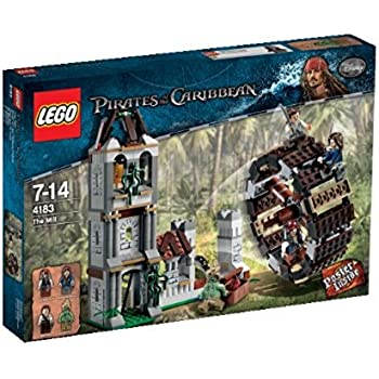 Amazoncom Lego Pirates Of The Caribbean The Mill 4183 Toys Games
