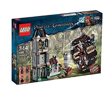 Lego Pirates Of The Caribbean 4183 Duell Bei Der Mühle Amazonde